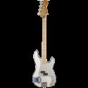 Fender Steve Harris Precision Bass® Maple Fingerboard Olympic White Chrome Pickguard