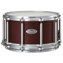 """Pearl FTMH1480 Task Specific Free Floating Snare Drum 14""""x 6.5"""" Maple/African Mahogany Satin Red Mahogany"""