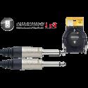 Stagg NSP10PP15R N-Series Professionele Luidspreker Kabel 10m