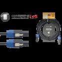 Stagg NSP10SS15BR N-Series Professionele Speaker Kabel Deluxe 10m