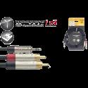 Stagg NYC3/MPS2CMR N-Series Audio Kabel 3m