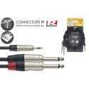 Stagg NYC3/MPS2PR N-Series Audio Kabel 3m