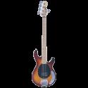 Vintage Bass V965TSB 5-String Flame Top Brownburst