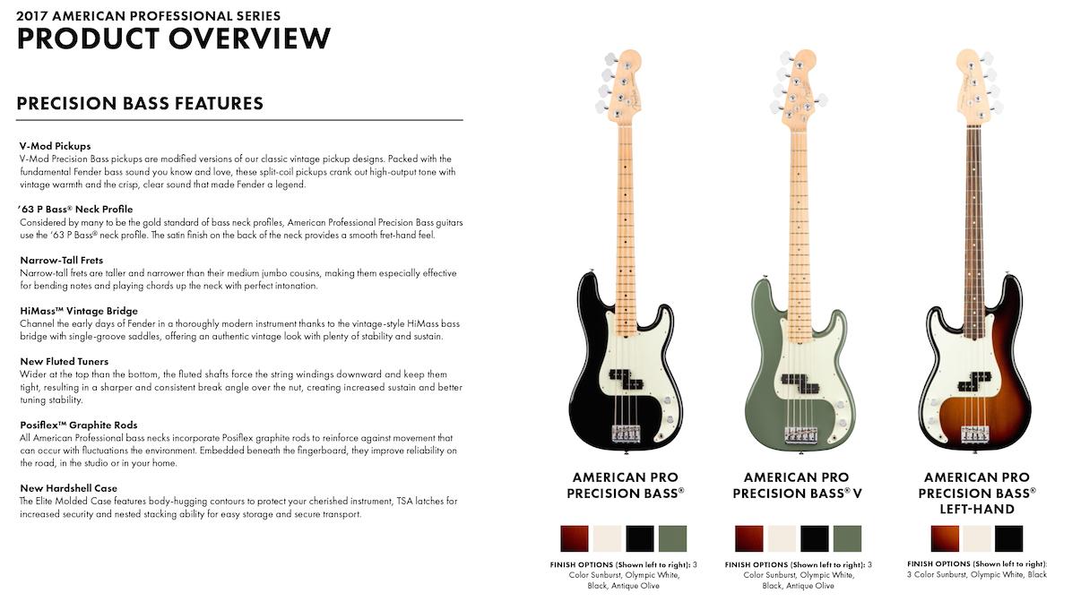 Fender American Professional Precision