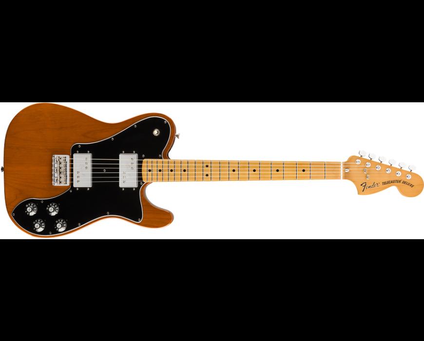 Fender Vintera '70s Telecaster® Deluxe Maple Fingerboard Mocha (Retour)