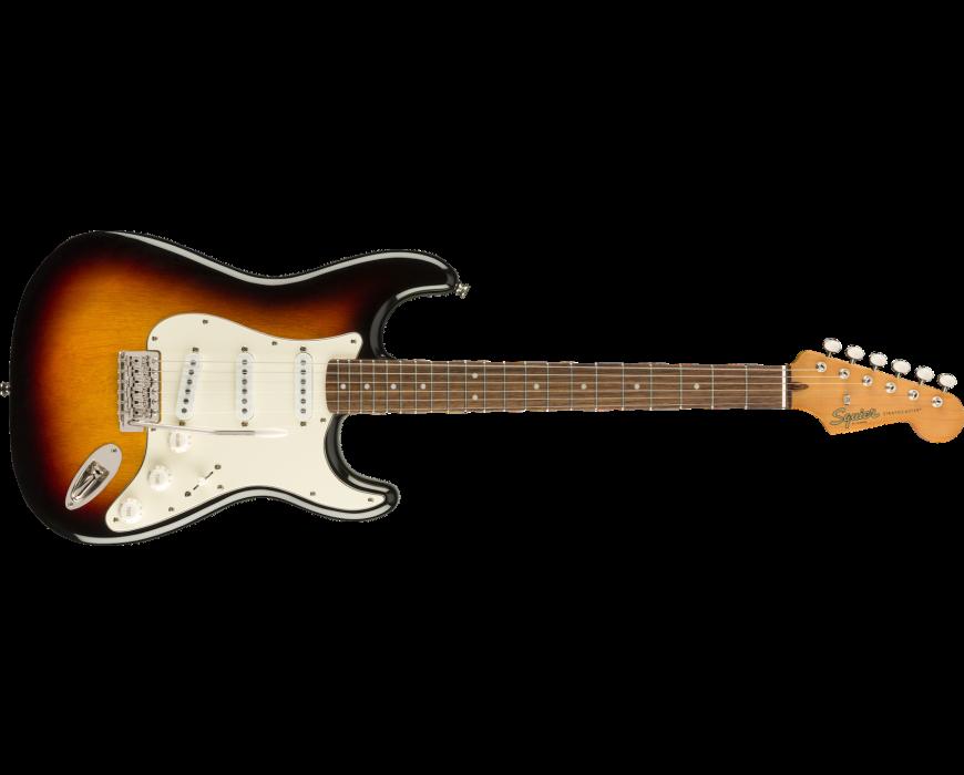 Classic Vibe '60s Stratocaster® Laurel Fingerboard 3-Color Sunburst
