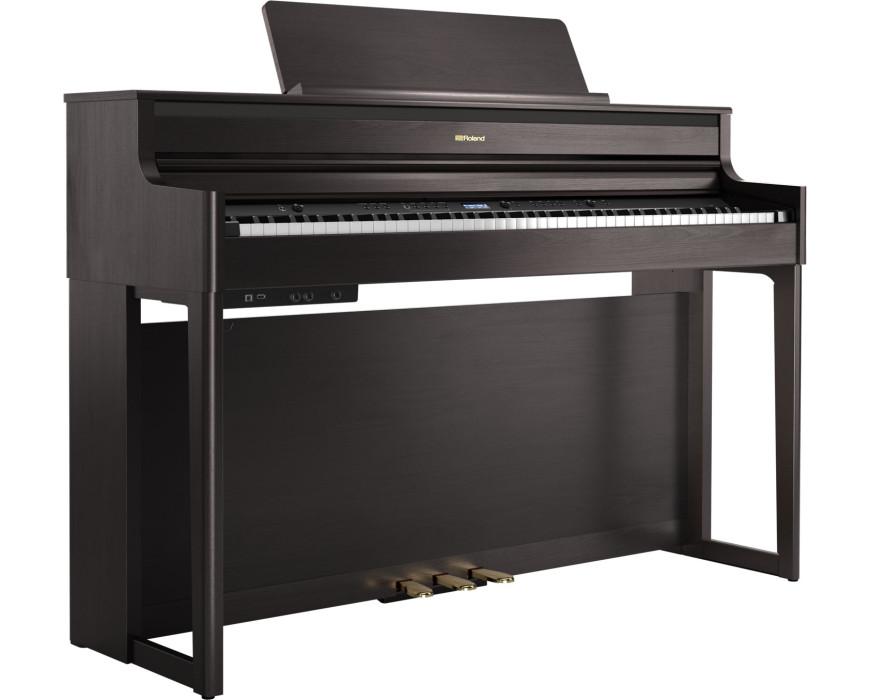 HP-704 DR (Dark Rosewood) + Beethovenbank +Hoofdtelefoon