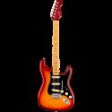 Fender American Ultra Luxe Stratocaster® MN Plasma Red Burst