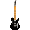 Fender American Ultra Luxe Telecaster® Floyd Rose® HH MN Mystic Black