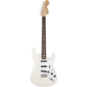 Fender Ritchie Blackmore Stratocaster® Scalloped Rosewood Fingerboard Olympic White