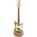Player Mustang® Bass PJ, PF Firemist Gold