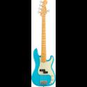 Fender American Pro II Precision Bass® V MN Miami Blue