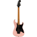 Squier Contemporary Stratocaster® HH FR RMN Black Pickguard Shell Pink Pearl
