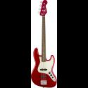 Squier Contemporary Jazz Bass® LRL Dark Metallic Red
