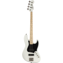 Squier Contemporary Active Jazz Bass® HH MN Flat White