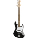 Squier Affinity Series™ Jazz Bass® LRL Black
