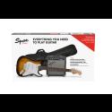 Stratocaster® Pack Laurel Fingerboard Brown Sunburst