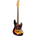 Classic Vibe '60s Jazz Bass® Fretless Laurel Fingerboard 3-Color Sunburst