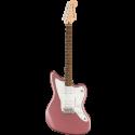 Squier Affinity Series™ Jazzmaster® LF White Pickguard Burgundy Mist