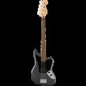 Squier Affinity Series™ Jaguar® Bass H LF Black Pickguard Charcoal Frost Metallic
