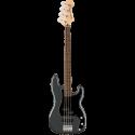 Squier Affinity Series™ P-Bass® PJ LF Black Pickguard Charcoal Frost Metallic