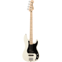 Squier Affinity Series™ P-Bass® PJ MN Black Pickguard Olympic White