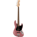 Squier Affinity Series™ Jazz Bass® LF Black Pickguard Burgundy Mist
