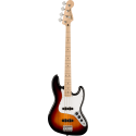 Squier Affinity Series™ Jazz Bass® MN White Pickguard 3TS
