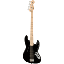 Squier Affinity Series™ Jazz Bass® MN Black Pickguard Black
