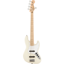 Squier Affinity Series™ Jazz Bass® V MN White Pickguard OLW