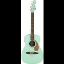 Fender Malibu Player Walnut Fingerboard Aqua Splash