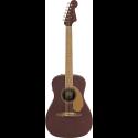 Fender Malibu Player Walnut Fingerboard Burgundy Satin