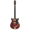 Gretsch G6131T-62 Vintage Select '62 Jet With Bigsby® TV Jones® Vintage Firebird Red