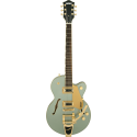 G5655TG Electromatic® Center Block Jr. Single-Cut with Bigsby® and Gold Hardware Laurel Fingerboard Aspen Green