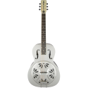Gretsch G9221 Bobtail™ Steel Round-Neck A.E. Steel Body Spider Cone Resonator Guitar Fishman® Nashville Resonator Pickup