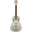 Gretsch G9201 Honey Dipper™ Round-Neck Brass Body Biscuit Cone Resonator Guitar Shed Roof Finish