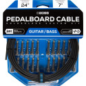 BCK-24 Solderless Pedalboard Cable Kit 7m