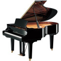 Yamaha C3X SH2 Silent Polished Ebony