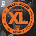 D'addario EXL160TP Twin Pack
