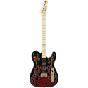 James Burton Telecaster® Maple Fingerboard  Red Paisley Flames