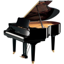 Yamaha GC-2 SH2 Polished Ebony