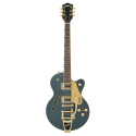 G5655TG Electromatic® Center Block Jr. Single-Cut with Bigsby® and Gold Hardware Laurel Fingerboard Cadillac Green