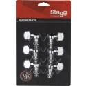 Stagg KG371CR Stemmechanieken Voor Elektrische En Akoestische Gitaar