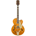 Gretsch G6120T-55 Vintage Select Edition '55 Chet Atkins® Hollow Body with Bigsby® TV Jones® Vintage Orange Stain Lacquer