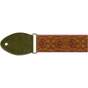 Souldier Vintage Guitar Strap Arabesque Red