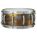 "Pearl STA1465FB Sensitone Elite Series Snare Drum 14""x 5"" Premium Beaded Brass Patina Finish"