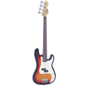 Vintage Bass V4SB 3-Tone Sunburst