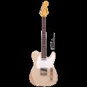 Vintage Guitars V62MRAB Icon Series Rosewood Neck Distressed Ash Blonde