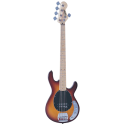 Vintage Bass V965TSB 5-String Flame Top Brownburst