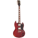 Vintage Guitars VS6MRCR Icon Series Cherry Red